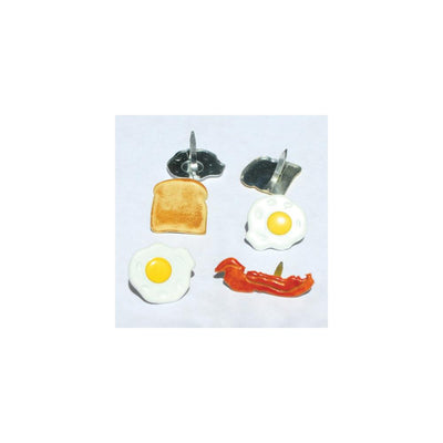 Eyelet Outlet Shape Brad 12/Pkg Breakfast