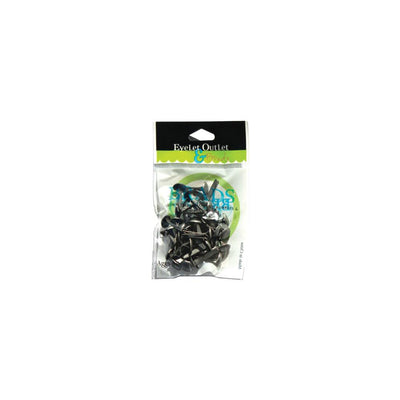 Eyelet Outlet Round Brads 8mm 40/Pkg