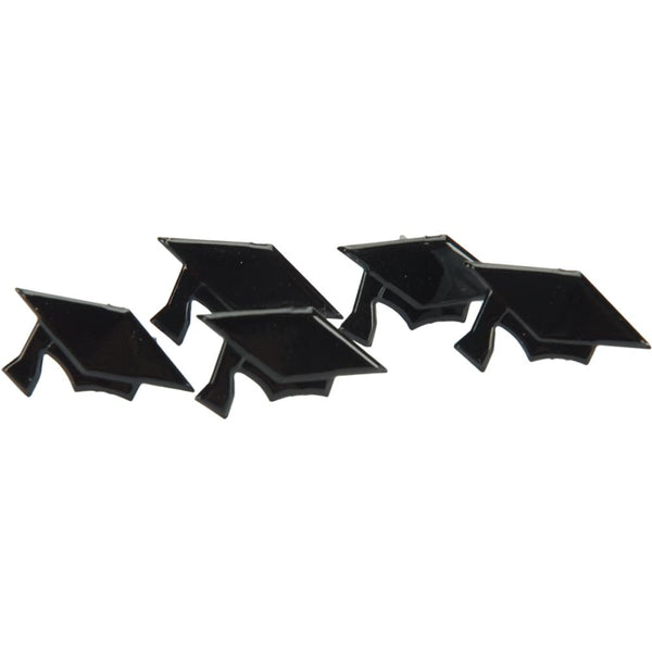 Eyelet Outlet Shape Brads 12/Pkg - Graduation Hats | Craftastic Cabin Inc
