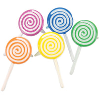 Eyelet Outlet Shape Brads 12/Pkg Lollipop