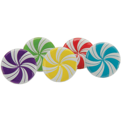 Shape Brads 12/Pkg - Peppermint Candies