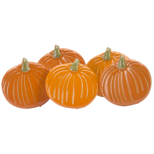 Eyelet Outlet Shape Brads 12/Pkg - Pumpkins | Craftastic Cabin Inc