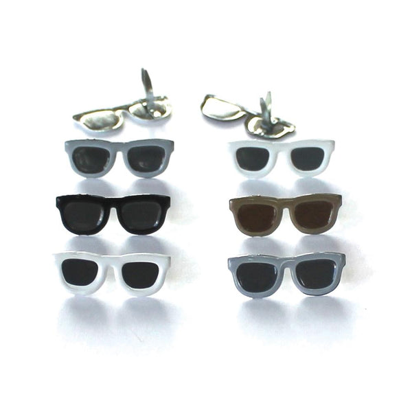 Eyelet Outlet Shape Brads 12/Pkg - Dark Sunglasses | Craftastic Cabin Inc