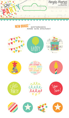 Simple Stories Collection Lets Party Bradz