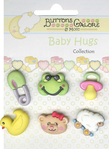 Buttons Galore Baby Hugs WEE ONES Buttons | Craftastic Cabin Inc