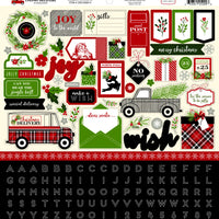 "Carta Bella Christmas Delivery Collection Kit 12""x 12"""