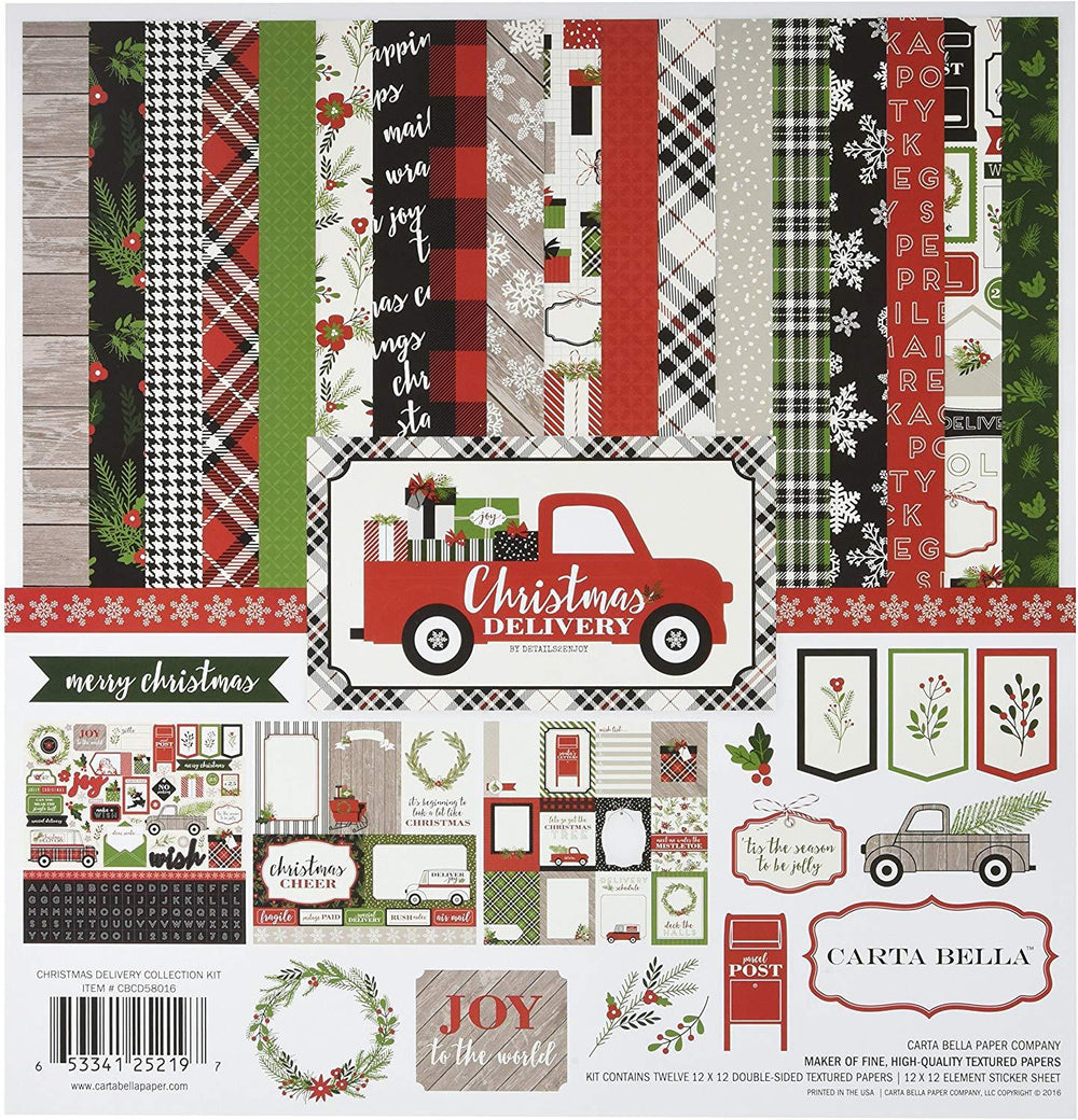 Carta Bella Christmas Delivery Collection Kit 12