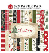 "Carta Bella CHRISTMAS Paper Pad 6"" x 6"""