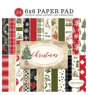 Carta Bella CHRISTMAS Paper Pad 6