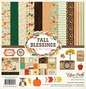 "Echo Park Fall Blessings Collection Kit 12""x 12"""