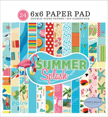 Carta Bella SUMMER SPLASH Paper Pad 6