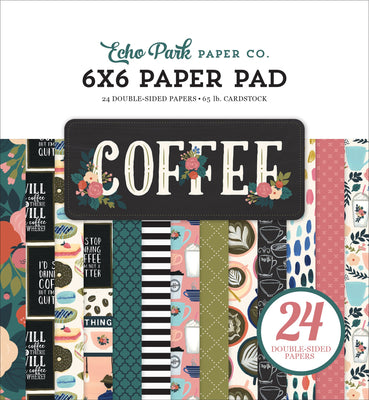 Carta Bella COFFEE Paper Pad 6