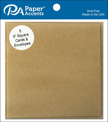 Paper Accents Card & Envelopes 6