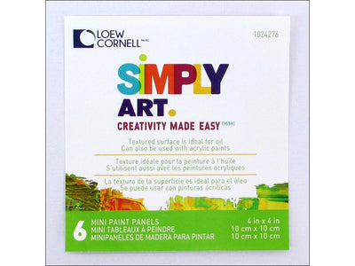Loew Cornell Simply Art Canvas Paint Panels 4