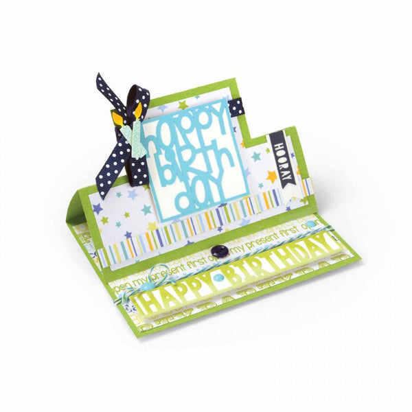 Sizzix Dies Stephanie Barnard Framelits Card Stand Ups Square | Craftastic Cabin Inc
