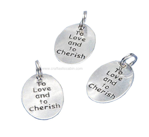 Love N Cherish Charms 20 SIL | Craftastic Cabin Inc