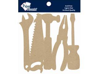 Paper Accents Chip Shape Tools Natural 5pc | Craftastic Cabin Inc