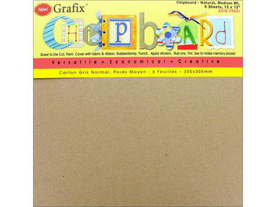 Grafix Chipboard Medium Weight 12