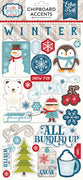 "I Love Winter Chipboard 6""x 12"" Collection"