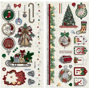 Bo Bunny Collection Tis The Season Chipboard