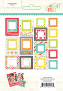 Simple Stories Lets Party Chipboard Frames