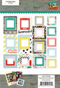 Life In Color Chipboard Frames Collection