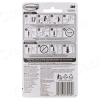 3M Command Adhesive Hook Small 2pc
