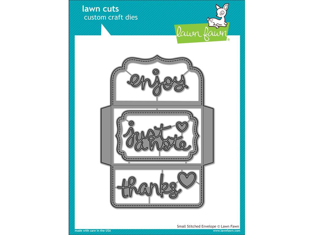Lawn Fawn Cuts Die Envelope Small Stitched