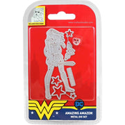 DC Comics Wonder Woman Die and Face Stamp Set Amazing Amazon