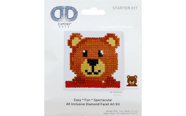 Diamond Dotz Facet Art Kit Beginner Mr. Handsome 3