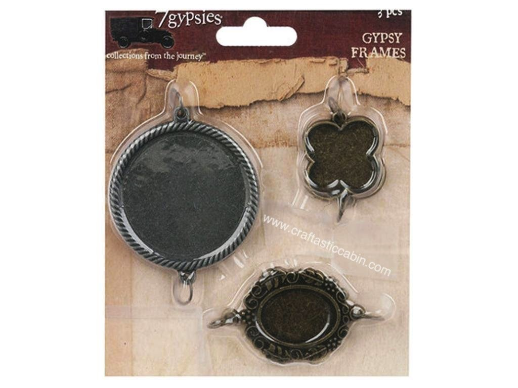 7 Gypsies® Embellishment Frames Bi-Color