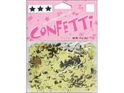 Darice Confetti Pack 11mm Stars Gold .5oz