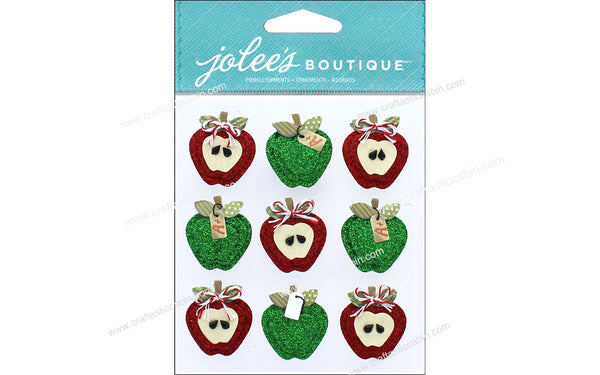 EK Success Jolee's Boutique Apples Repeat | Craftastic Cabin Inc