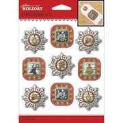 EK Success Jolee's Boutique Christmas Holiday Charm Stickers
