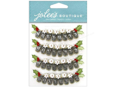 EK Success Jolee's Boutique Repeat Happy Holiday
