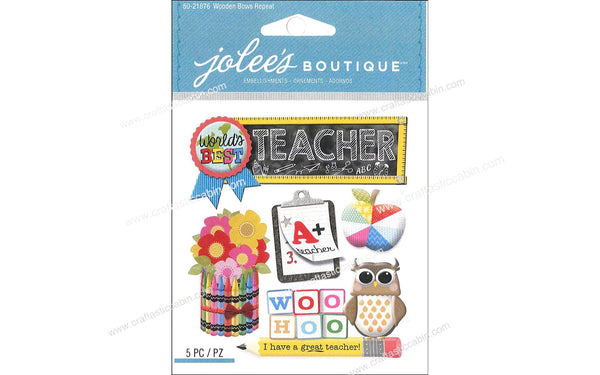 EK Success Jolee's Boutique Teacher | Craftastic Cabin Inc