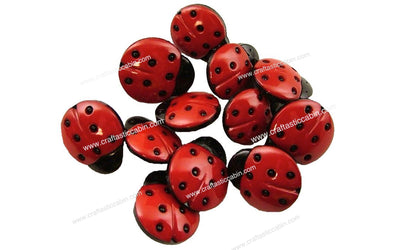 Jesse James Buttons Fun Lady Bugs