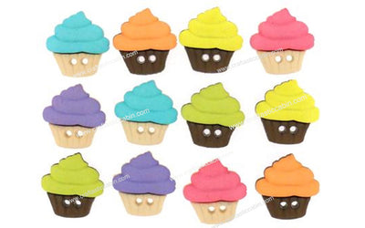 Jesse James Buttons Sew Cute Cupcakes