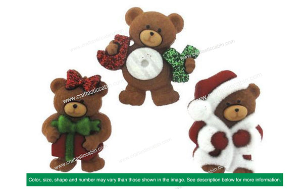 Jesse James Dress It Up A Beary Merry Christmas | Craftastic Cabin Inc