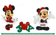 Jesse James Dress It Up Disney Mickey & Minnie Christmas
