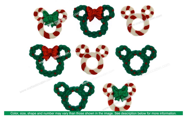 Jesse James Dress It Up Disney Wreaths & Canes | Craftastic Cabin Inc