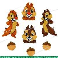 Jesse James Dress It Up Disney Chip & Dale...DISCONTINUED BY MANUF.