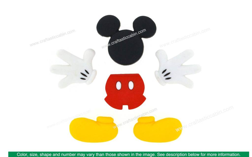 Jesse James Embellishments Disney Mickey Mouse Everything Mickey