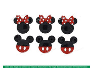 Jesse James Embellishments Disney Mickey & Minnie Glitter