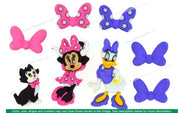 Jesse James Embellishments Disney Minnie Bowtique Buttons