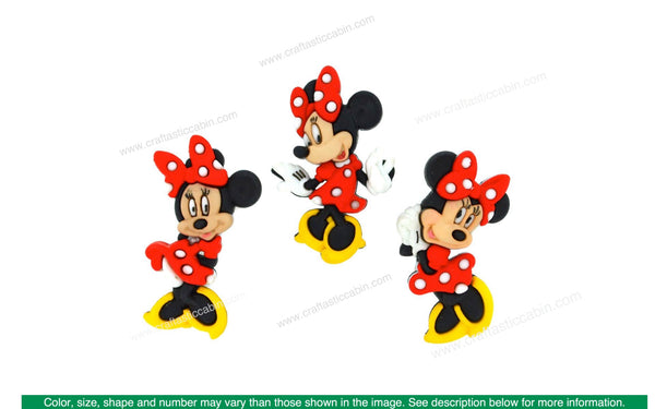 Jesse James Embellishments Disney Minnie Mouse | Craftastic Cabin Inc