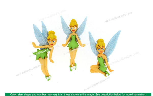 Jesse James Dress It Up Disney Tinkerbell | Craftastic Cabin Inc