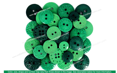 Jesse James Embellishments Color Me Green