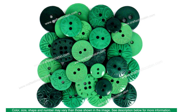 Jesse James Embellishments Color Me Green | Craftastic Cabin Inc
