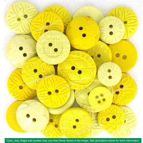 Jesse James Embellishments Color Me Yellow | Craftastic Cabin Inc